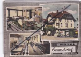 Suisse ; Sempach-Station - Hôtel Sempacherhof (Dos Cachet Plan Situation) - LU Luzern
