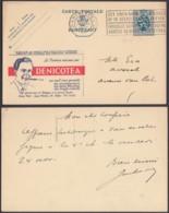 Belgique 1933- Entier Postal Sur Publibel  De Antwerpen. Theme: Tabac ...........(8G) DC-4357 - Entiers Postaux