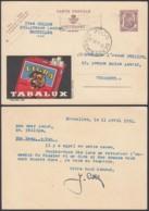 Belgique 1951 - Entier Postal Sur Publibel Nr. 931  Vers Termonde.  Theme:  Tabac...............(8G) DC-4361 - Interi Postali