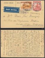 Congo Belge 1945 - Carte Postale Par Avion De Sakania  Vers Belgique ...........(BE) DC-4363 - Congo Belge - Autres