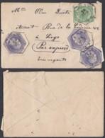 Belgique - Enveloppe à Liege- Par Express...........................(BE) DC-4367 - Belgium