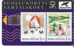 FINLAND - MOOMINS - STAMPS - 50.000EX - Finnland