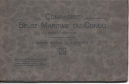 Belgique, Anvers, Compagnie Belge Du Congo, Carnet De 12 Cartes        (bon Etat) - Belgique
