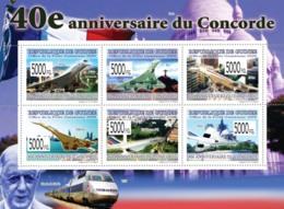 Guinea 2009 MNH - 40th Anniversary Of Concorde I. YT 4113-4118, Mi 6596-6601 - Guinea (1958-...)