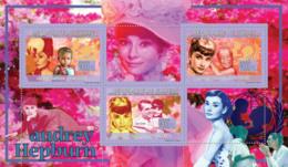 Guinea 2009 MNH - Audrey Hepburn (1929-1993), UNICEF, C.Gant. YT 4241-4243, Mi 6702-6704 - Guinea (1958-...)