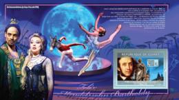Guinea 2009 MNH - Felix Mendelssohn Bartholdy (1809-1847) The Dream Of A Summer Night. YT 1020, Mi 6635/BL1697 - Guinea (1958-...)