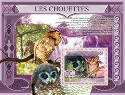 Guinea 2009 MNH - Owls, Strix Woodfordi (Scotopelia Peli). YT 964, Mi 6437/BL1667 - Guinea (1958-...)