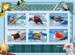 Guinea 2009 MNH - Birds. YT 4038-4043, Mi 6418-6423 - Guinea (1958-...)