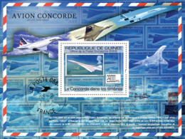 Guinea 2009 MNH - Concorde On Stamps, Stamp Of England. YT 1056, Mi 7022/BL1764 - Guinea (1958-...)