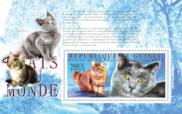 Guinea 2009 MNH - Cats Of The World, I. YT 1072, Mi 7195/BL1787 - Guinee (1958-...)