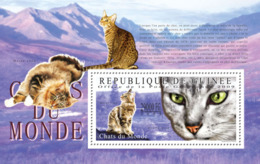 Guinea 2009 MNH - Cats Of The World II. YT 1073, Mi 7196/BL1788 - Guinee (1958-...)