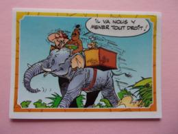 PANINI Astérix CARREFOUR N°96 éléphant Elefante Elephant Elefant Obélix - Panini