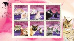 Guinea 2009 MNH - Cats Of The World III. YT 4624-4629, Mi 7189-7194 - Guinee (1958-...)
