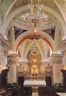 Cartolina Serra San Bruno Chiesa Addolorata Interno 1981 - Vibo Valentia