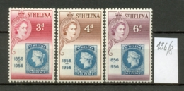 ST.HELENA - 136/8  Briefmarken 100 J.  Kpl.postfr. - Saint Helena Island