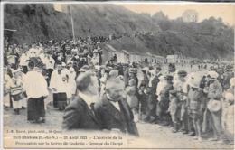 Etables - 21 Aout 1921 Procession -  Circulé - Etables-sur-Mer