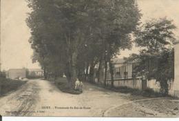 CPA BRIEY 54 Promenade Du ROI-de-ROME. Animée, Enfants. - Briey