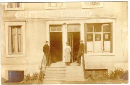 54 JARNY GARE CAFE DU  COMMERCE  RESTAURANT CARTE PHOTO - Jarny