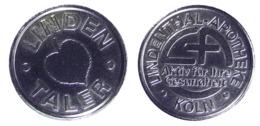 00918 GETTONE TOKEN JETON VENDING LINDENTHAL APOTHEKE KOLN TALER - Deutschland