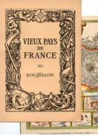 Carte Topographique Du Roussillon - La France N°30 Par Les Laboratoires Marinier - Topographical Maps