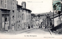 VERDUN  -  La Rue Montgaud  -  Belle Animation - Verdun