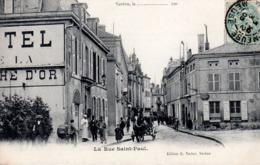 VERDUN  -  La Rue Saint-Paul  -  Belle Animation - Verdun