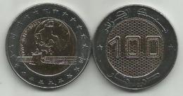 Algeria 100 Dinars 2018. UNC Satellite Bimetall - Algeria