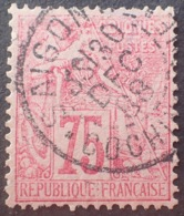 DF40266/754 - COLONIES GENERALES - TYPE ALPHEE DUBOIS - N°58 (pelurage) ☛ CàD : SAÏGON - COCHINCHINE - 30 DEC 1888 - Alphée Dubois