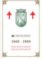 Belgique  41° Campagne Timbres  Antitubercuberculeux  1965/66    C. Antiteringzegels                    0 - Unclassified