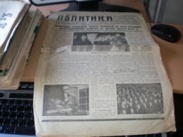 Politika 1934 - Scandinavian Languages