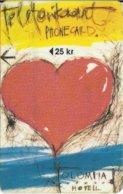 ESTONIA - HOTEL OLÜMPIA - HEART -  NO MIOTEC OY - 12/96 - Estonia
