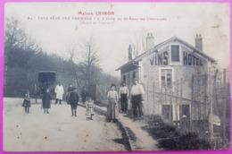 Cpa Maison Cayron Hotel Restaurant Route De Limours Carte Postale 78 Yvelines Rare St Proche Saint Remy Les Chevreuses - St.-Rémy-lès-Chevreuse