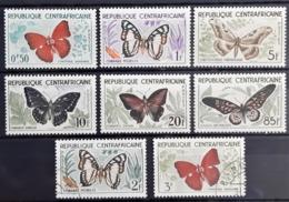 CENTRAFRIQUE - N° 4-5-6-7-8-9-10-11 - Papillons - Neufs SANS Charnières ** / MNH - Repubblica Centroafricana