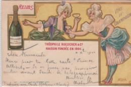 Lllustrateur Nover. Reims Vins De Champagne-Théophile Roederer & C°  . Scan - Illustratoren & Fotografen