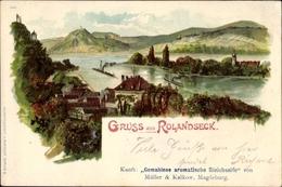 Artiste Lithographie Rolandseck Remagen Kr. Ahrweiler, Gemahlene Aromatische Bleichseife Müller & Kalkow - Germania