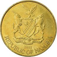 Monnaie, Namibia, 5 Cents, 2012, Vantaa, TTB, Nickel Plated Steel, KM:1 - Namibië