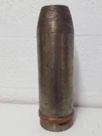 Projectile De 10.5cm Schrapnell Allemand Ww1(Neutralisé) (2) - Armes Neutralisées