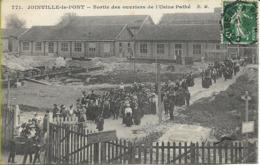 JOINVILLE LE PONT  Sortie Des Ouvriers De L'usine PATHE - Joinville Le Pont