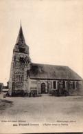 CP 80 Somme Fricourt Guerre 14 L'église Avant La 444 Lelong Belle Emilia - Other Municipalities