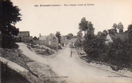 CP 80 Somme Fricourt Guerre 14 Rue D'Arras Avant La 357 Lelong Belle Emilia - Other Municipalities