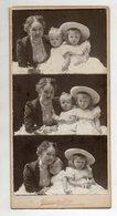 C3080/ Kabinettfoto Mutter + Kinder Atelier Constantin Luck, Düsseldorf Ca.1905 - Foto's