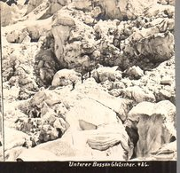 AK-2526/ Unterer Bosson Gletscher Bei Chamonix Stereofoto Ca.1905  - Stereoscopio