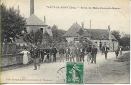 TRACY LE MONT   Sortie De L'usine  COMMELIN-BRENIER - Other Municipalities
