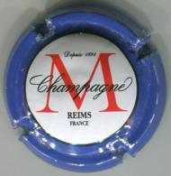CAPSULE-CHAMPAGNE MONTAUDON N°12 Contour Bleu - Champagnerdeckel