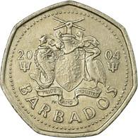 Monnaie, Barbados, Dollar, 2004, TTB, Copper-nickel, KM:14.2 - Barbados