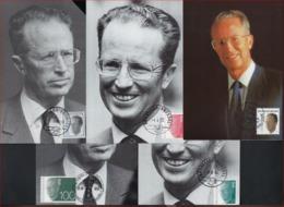 5 FDC Postkaarten OLYFF ; Staat Zie Scan  ! Verkoop Aan 8 € ! LOT 255 - 1990-1993 Olyff