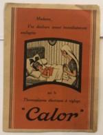 Publicité Calor - Thermoplasme électrique à Réglage - Publicités