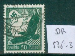 DR 1934  MiNr. 535       O / Used  (L724) - Oblitérés