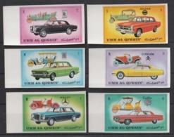 1972 Umm Al- Qiwain (Emirati Arabi) Cars MNH** Excellent Quality Nu41 - Automobili
