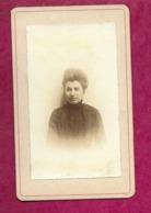 Ancienne PHOTO CDV Circa 1880.. FEMME, MODE TOILETTE. - Old (before 1900)